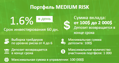 Etoro Invest Medium Risk