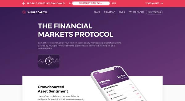 ICO Sharpe Capital - Отзывы и обзор инвестиционной платформы