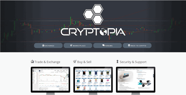 Криптопия - биржа криптовалют | Cryptopia co nz - отзывы