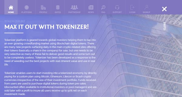 Tokenizer biz - Отзывы и обзор