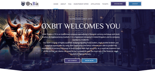 OxBit - Отзывы и обзор Oxbit biz