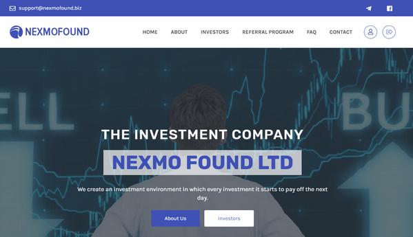 Nexmofound biz - Отзывы и обзор