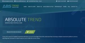 ABStrend – Отзывы и обзор abstrend net (Бонус 3% от вклада)