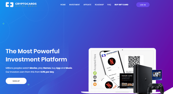 CryptoCards plus – Отзывы и обзор Crypto Cards (Бонус 6% от вклада)