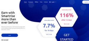 SmartRise – Отзывы и обзор (Бонус 5% от вклада)