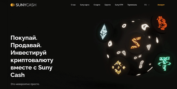 Suny Cash – Отзывы и обзор экосистемы Suny Group (Бонус 4% от каждого вклада)
